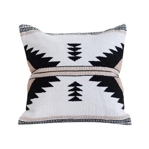 India Dormida Cushion - White Moss Collection