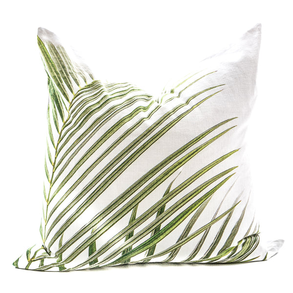 Palm Leaf Cushion Cover