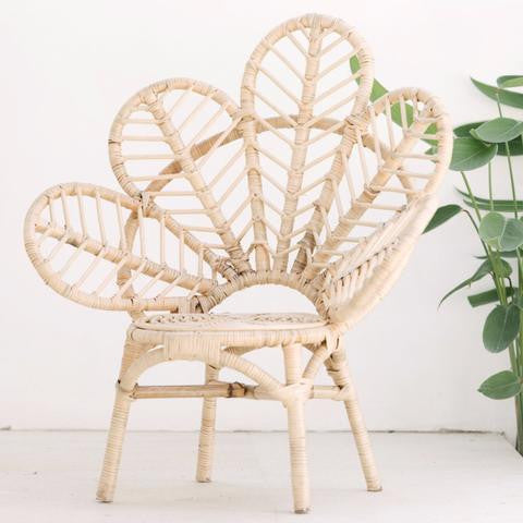 Mini Love Chair - White Moss Collection