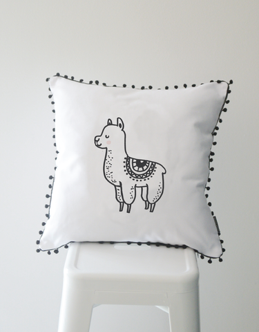 Scandi Scatter Cushion - Lama