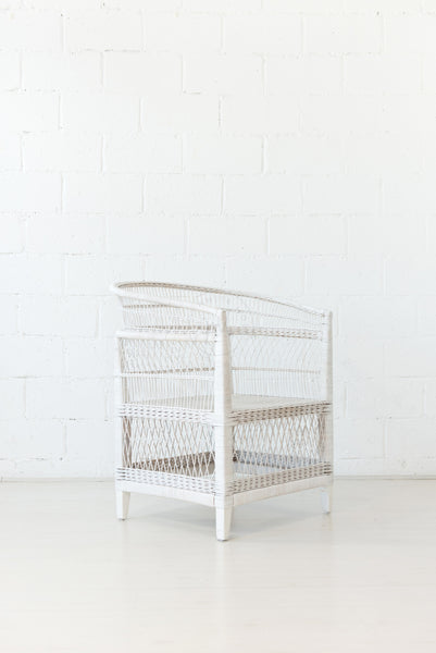 Malawi Chair White - White Moss Collection