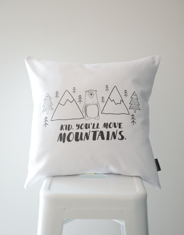 Scandi Scatter Cushion - Mountain