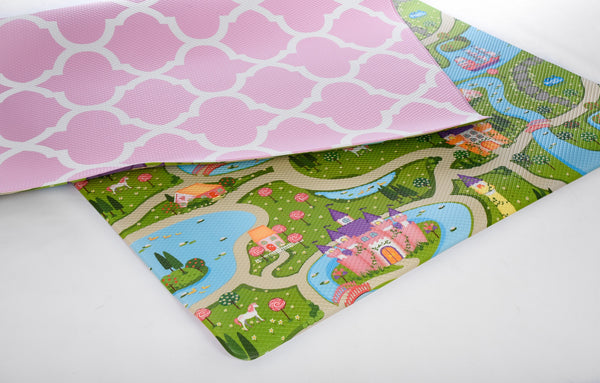 Bumpa Mats - Pink Honeycomb & Fairy Land