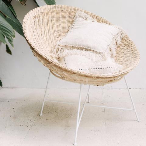 Bali Bowl Chair - White Moss Collection