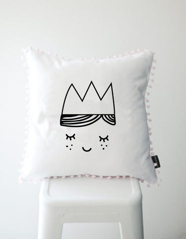 Scandi Scatter Cushion - Sleeping Princess
