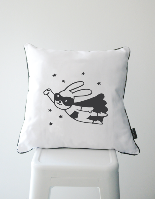 Scandi Scatter Cushion - Superhero