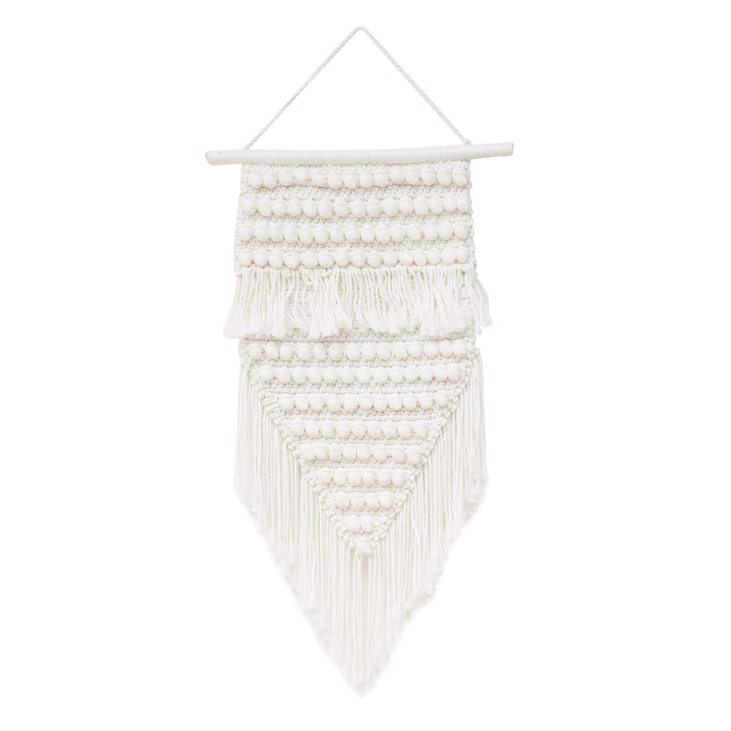 Phoenix Macrame Wall Hanging - White Moss Collection