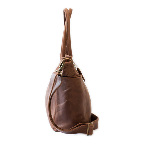 The Beula Baby Bag - Brown