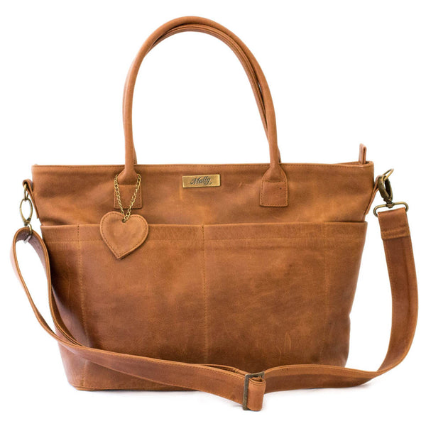 The Beula Baby Bag - Toffee