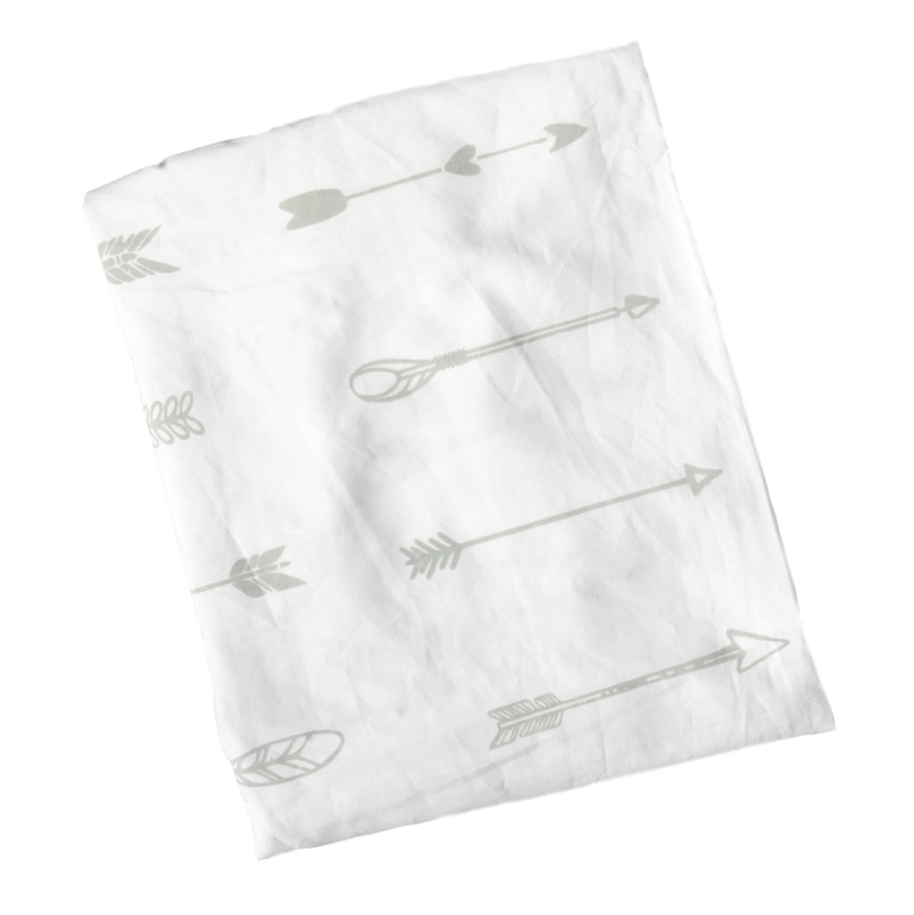 Crib Fitted Sheet -  Arrow Tribal