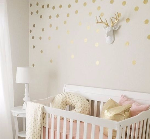 Dots (regular) Wall Stickers - 12 Colours