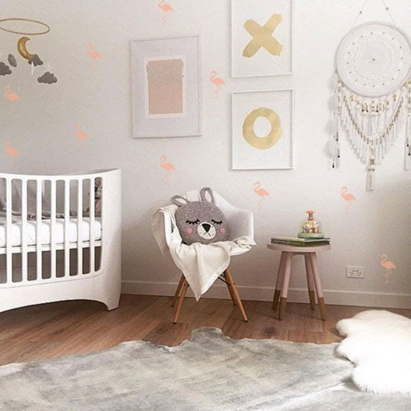 Flamingo Wall Stickers - 12 Colours