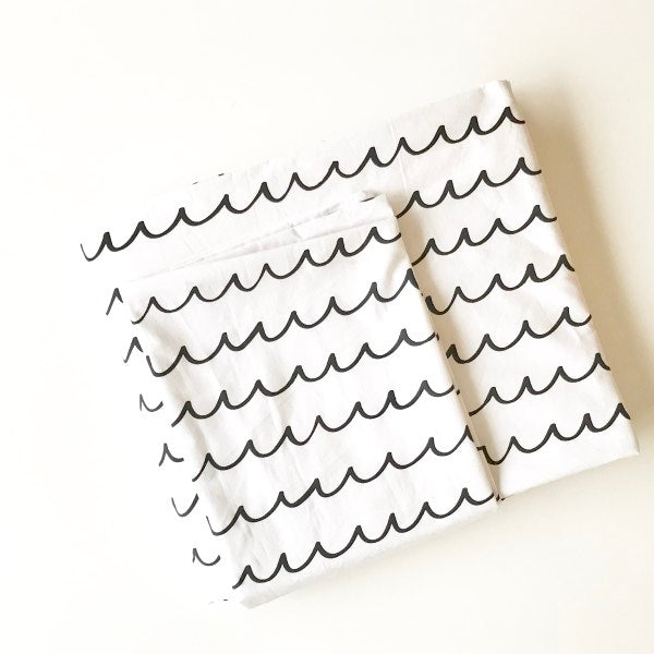 Scandi Duvet Set - Wave