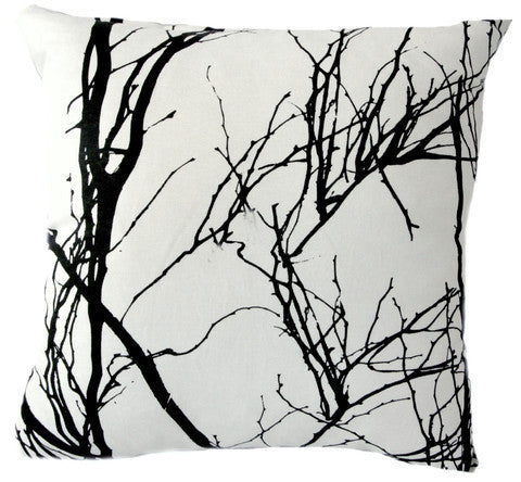 Monochrome Branch Cushion Covers