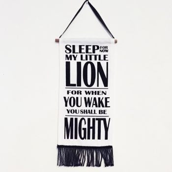 Sleepy Lion Flag