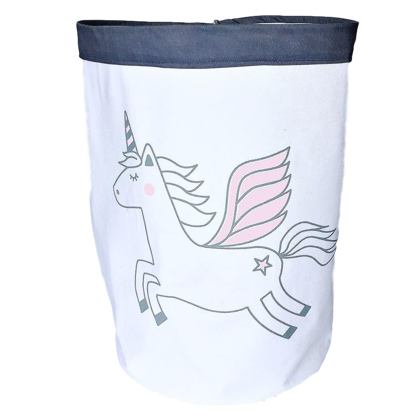 Fabric Storage Bag - Unicorn