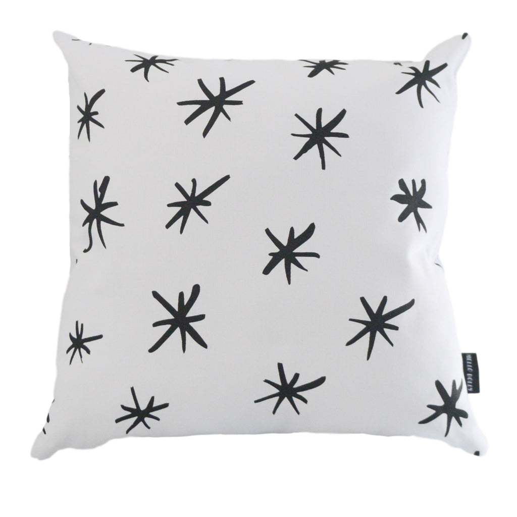 Scandi Scatter Cushion - Stars Pattern