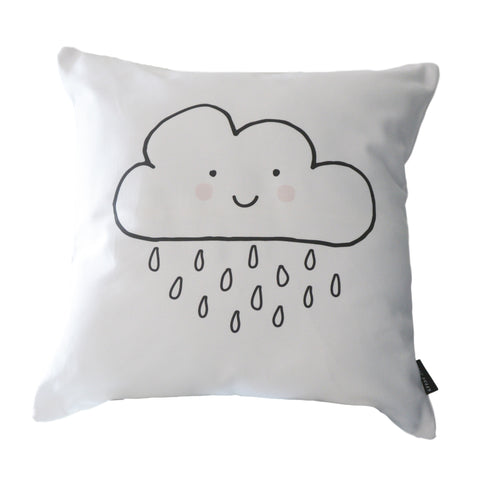 Scandi Scatter Cushion - Happy Cloud