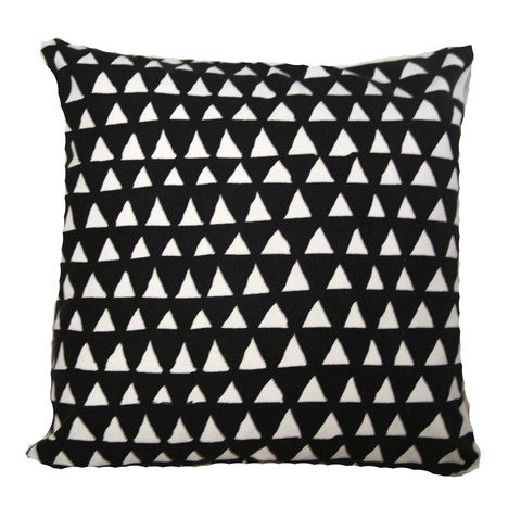 Monochrome Triangle Cushion Covers