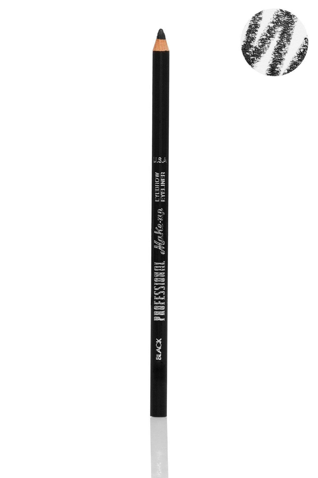 Black Eyebrow Eyeliner Pencil