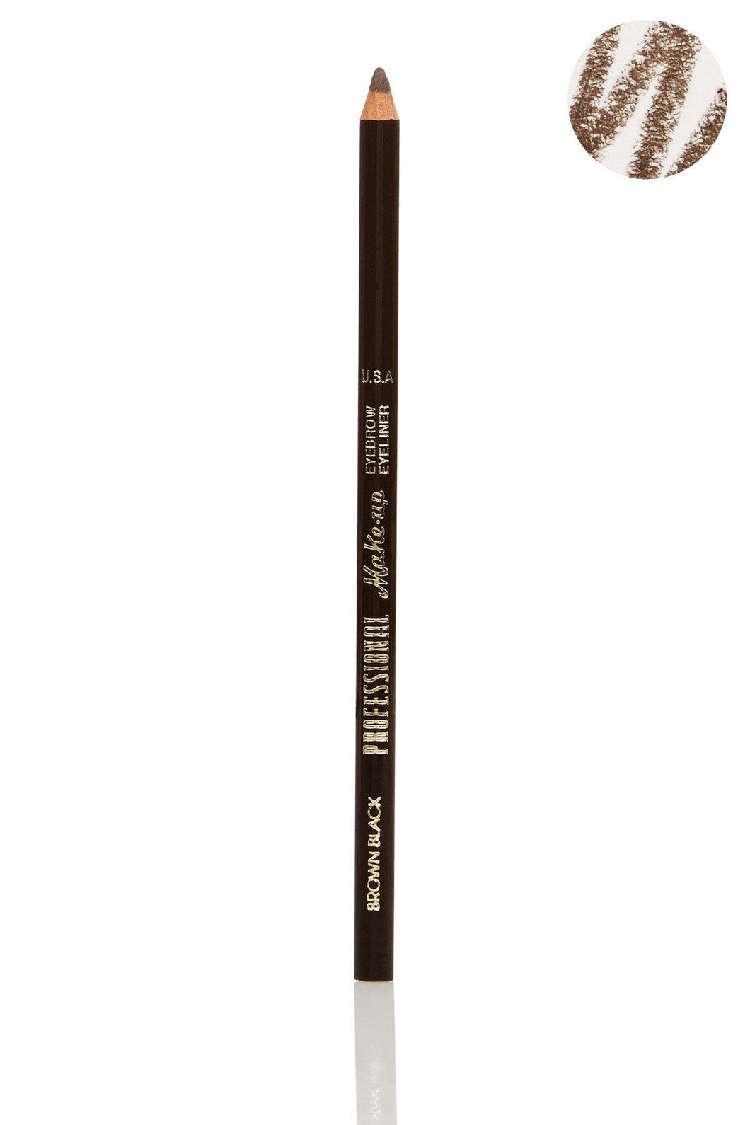 Brown & Black Eyebrow Eyeliner Pencil