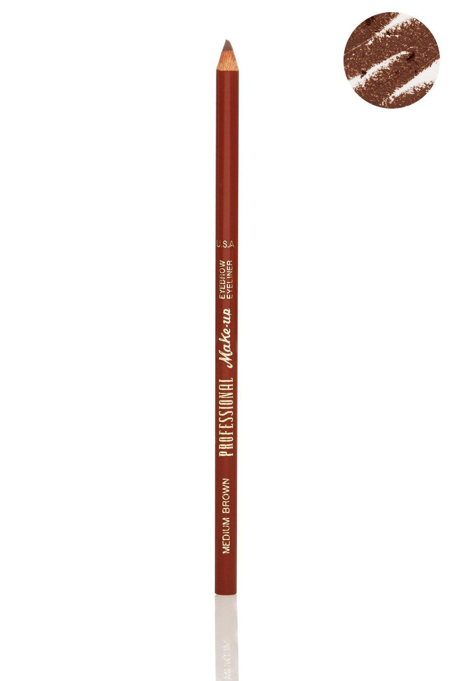 Medium Brown Eyebrow Eyeliner Pencil - Blend Mineral Cosmetics