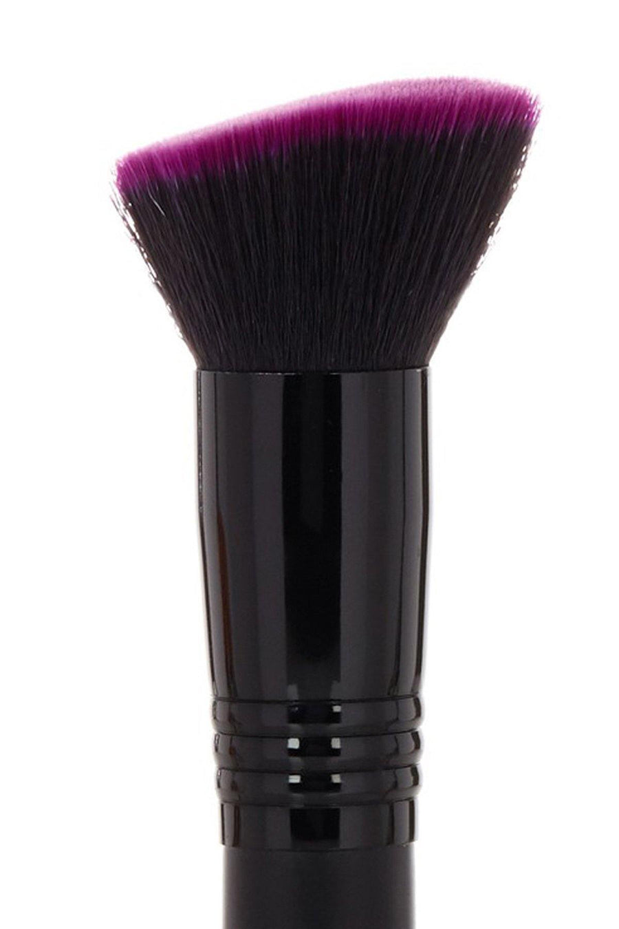 Double Ended Brush - Purple - Blend Mineral Cosmetics
