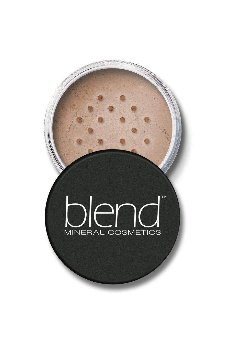 Mineral SPF 15 Foundation #9 - Dark Tan - Blend Mineral Cosmetics