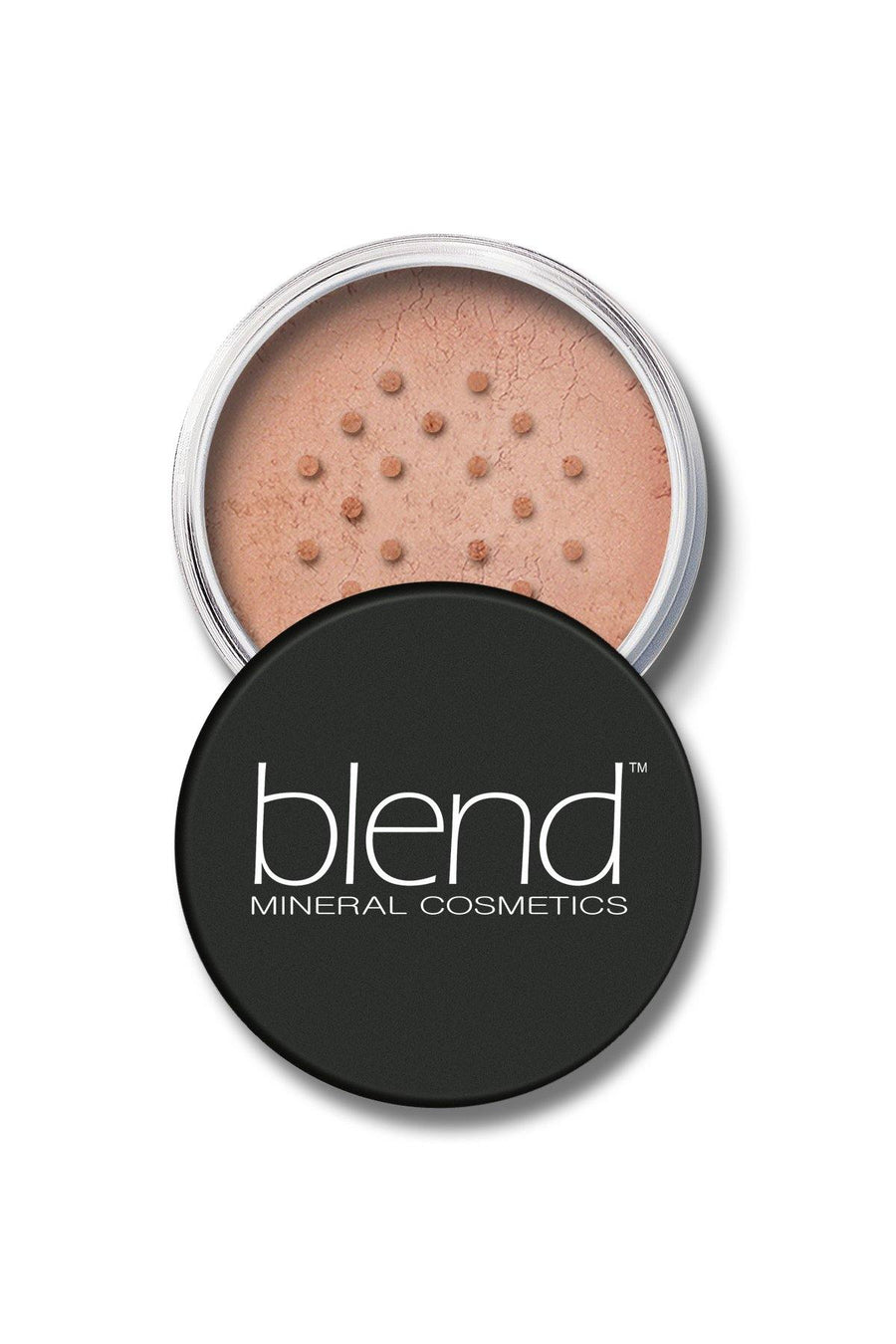 Mineral Blush #4 - Dusty Rose - Blend Mineral Cosmetics