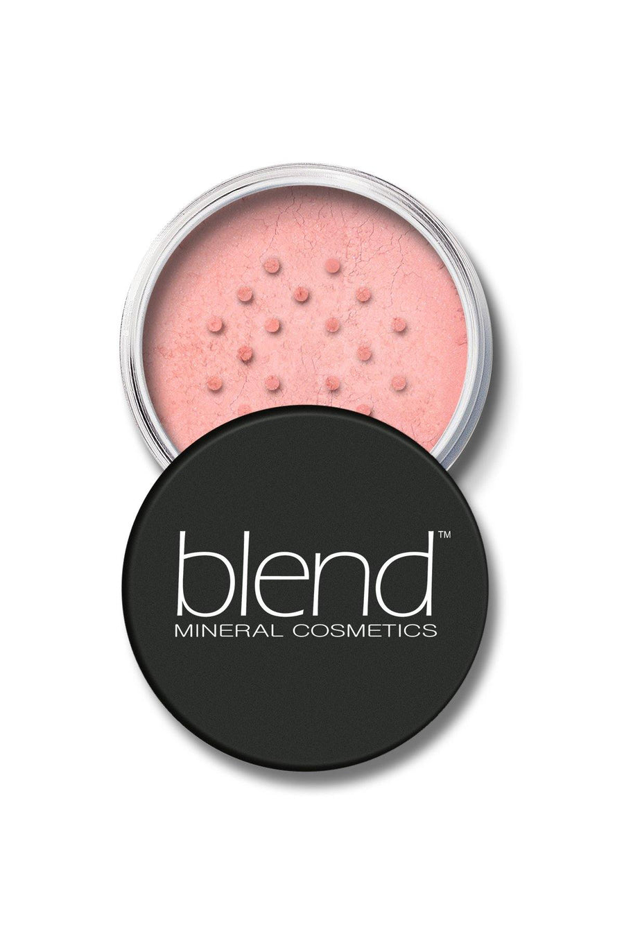 Mineral Blush #7 - Light Peach - Blend Mineral Cosmetics