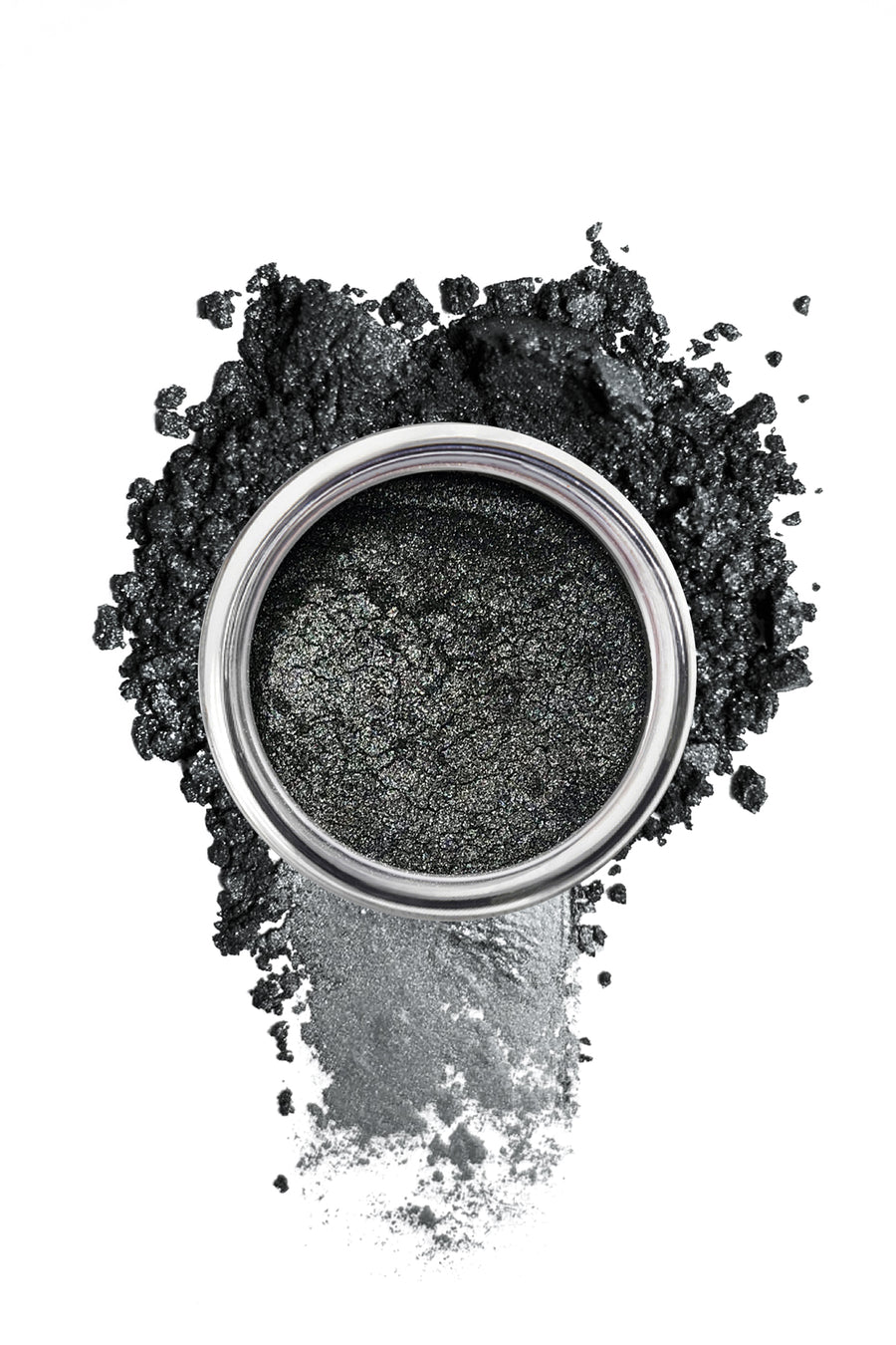 Shimmer Eyeshadow #4 - Deep Silver - Blend Mineral Cosmetics