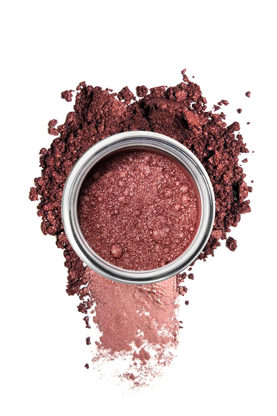 Shimmer Eyeshadow #6 - Pink Metal - Blend Mineral Cosmetics