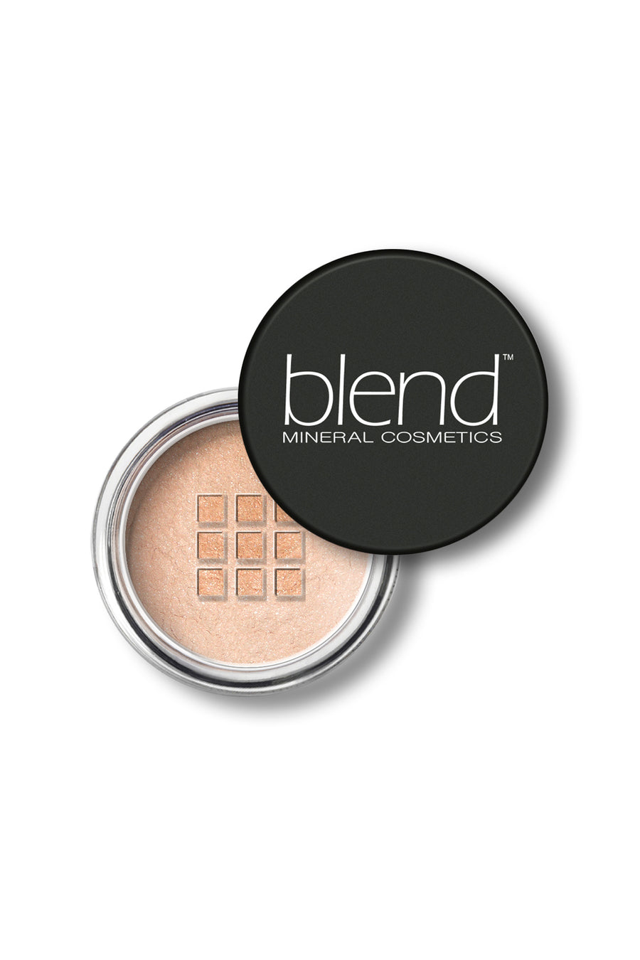 Shimmer Eyeshadow #8 - Lovely Peach - Blend Mineral Cosmetics