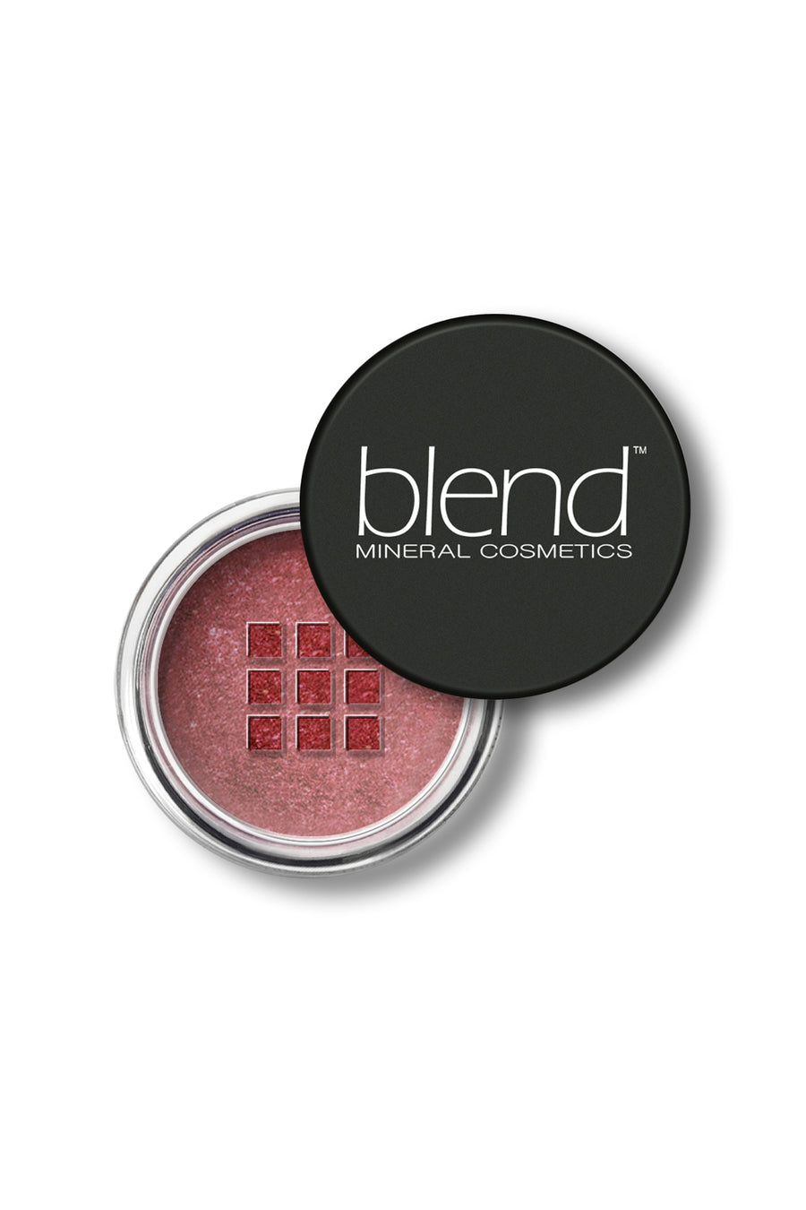Shimmer Eyeshadow #12 - Bordeaux - Blend Mineral Cosmetics