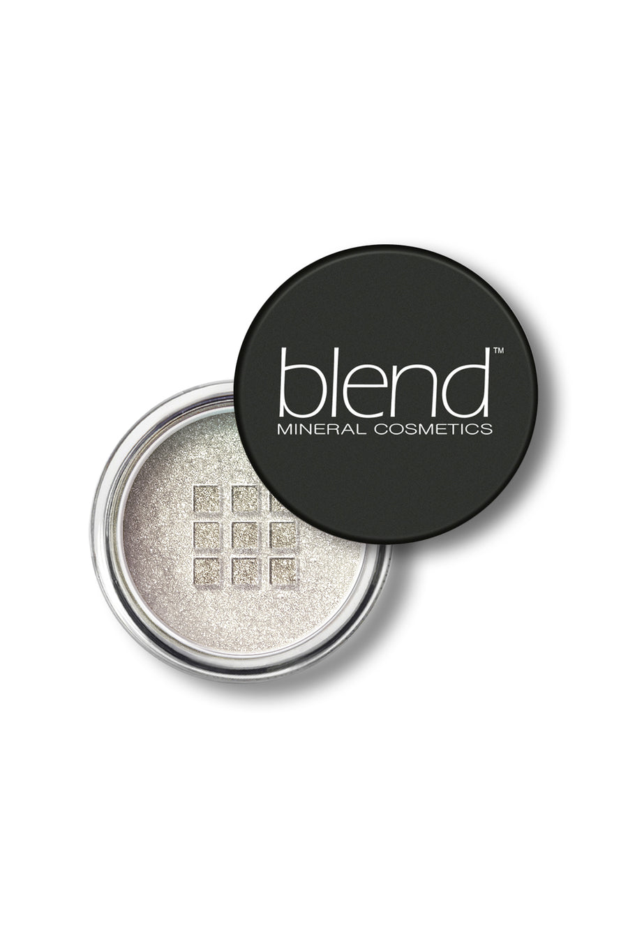 Shimmer Eyeshadow #14 - Metal Snow - Blend Mineral Cosmetics