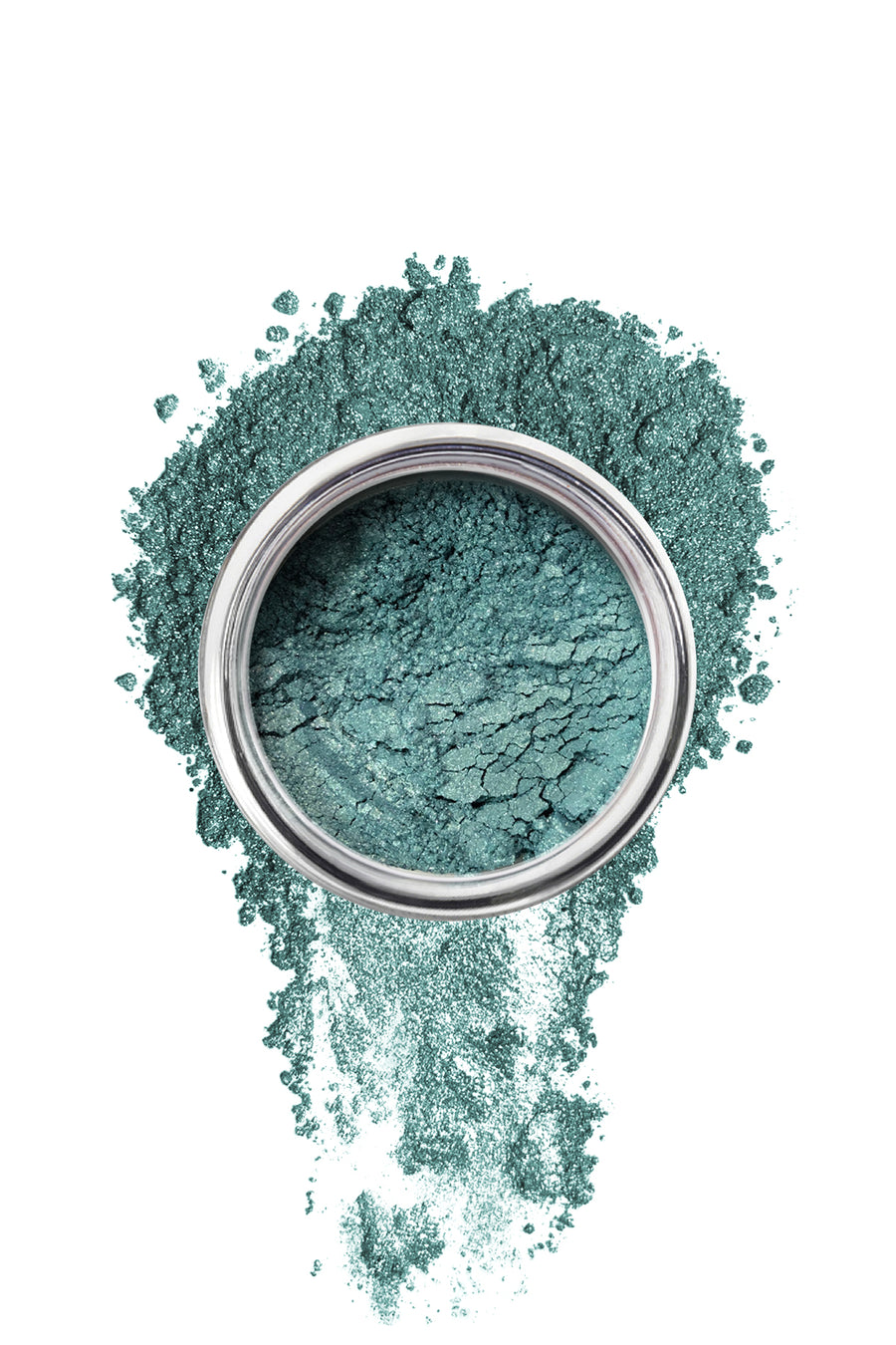 Shimmer Eyeshadow #21 - Aqua Green - Blend Mineral Cosmetics