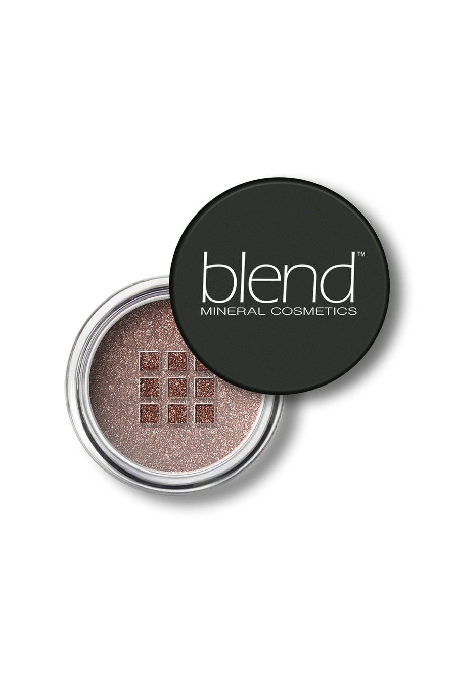 Shimmer Eyeshadow #37 - Coffee Brown - Blend Mineral Cosmetics