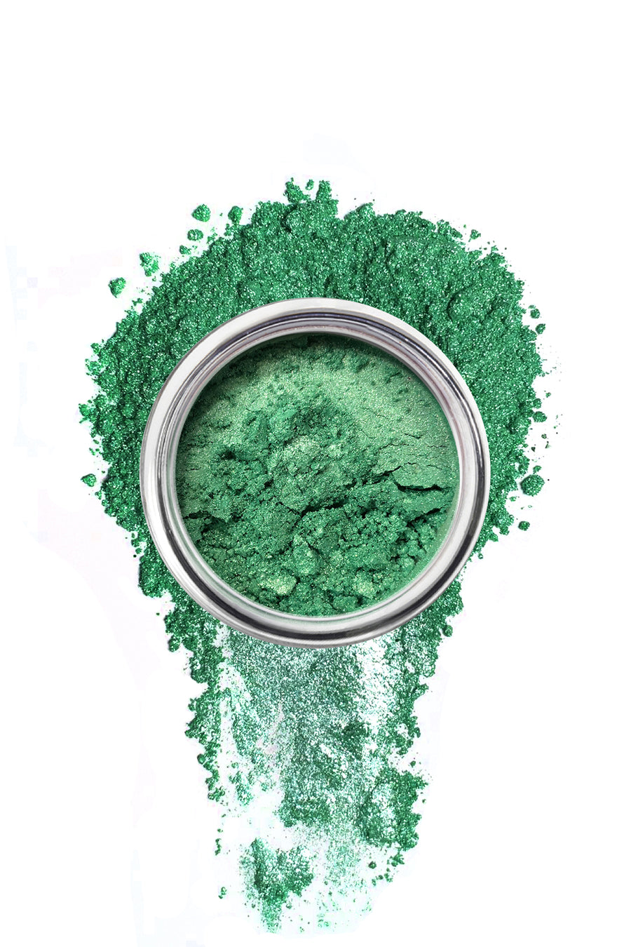 Shimmer Eyeshadow #44 - Ocean Green - Blend Mineral Cosmetics
