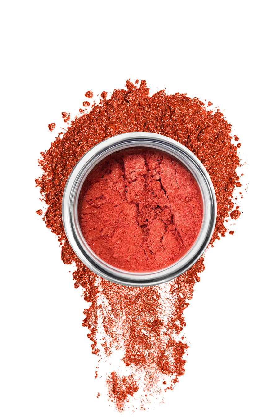 Shimmer Eyeshadow #48 - Red Water Lily - Blend Mineral Cosmetics