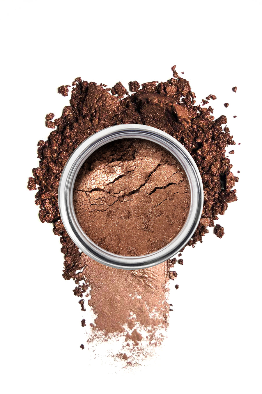 Shimmer Eyeshadow #51 - Copper Brown - Blend Mineral Cosmetics