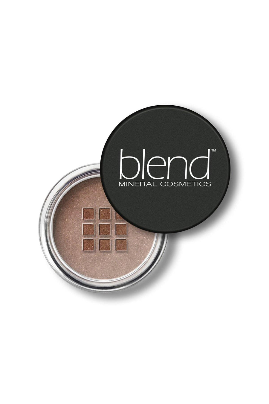 Shimmer Eyeshadow #65 - Warm Brown Matte - Blend Mineral Cosmetics