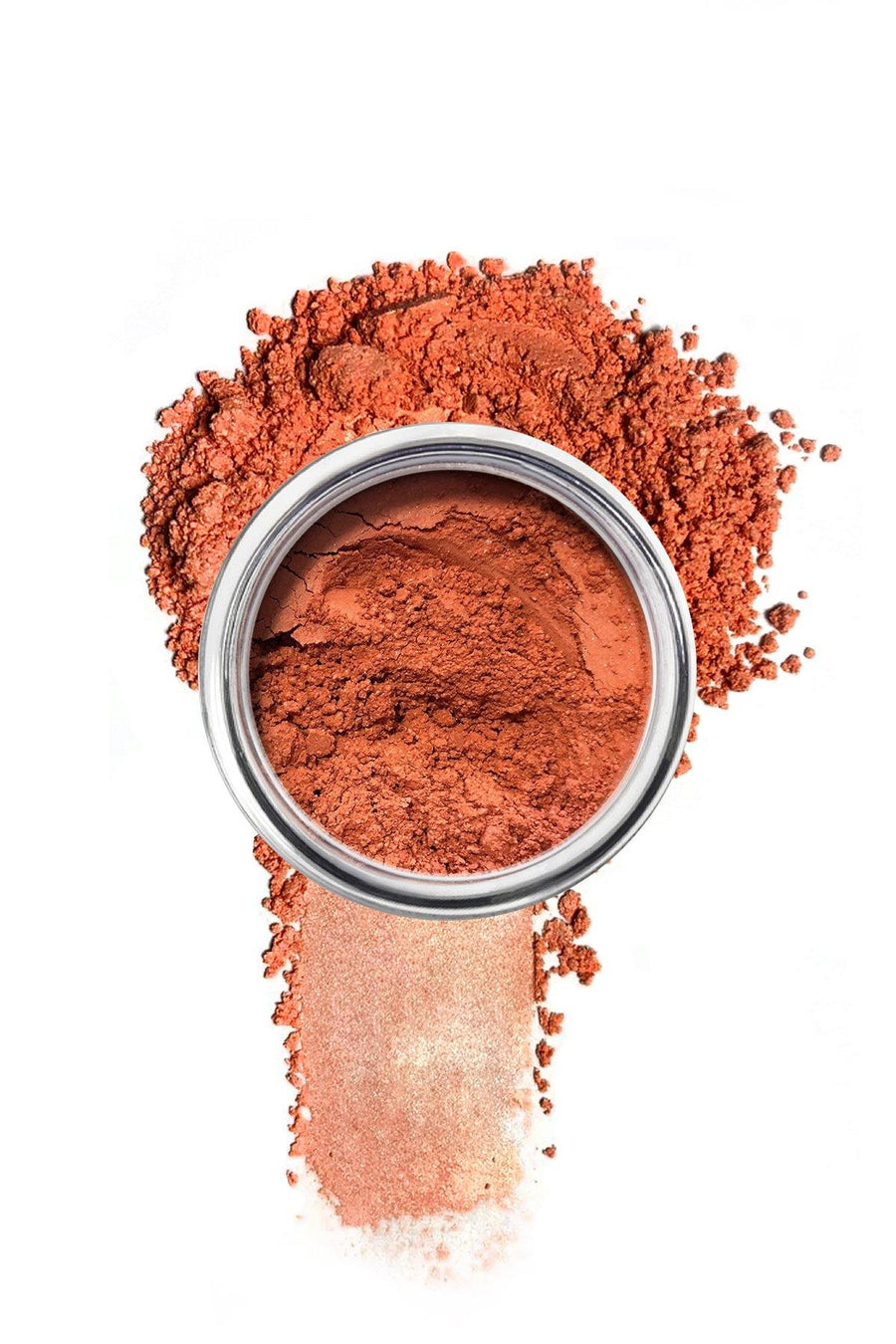 Shimmer Eyeshadow #68 - Salmon Matte - Blend Mineral Cosmetics