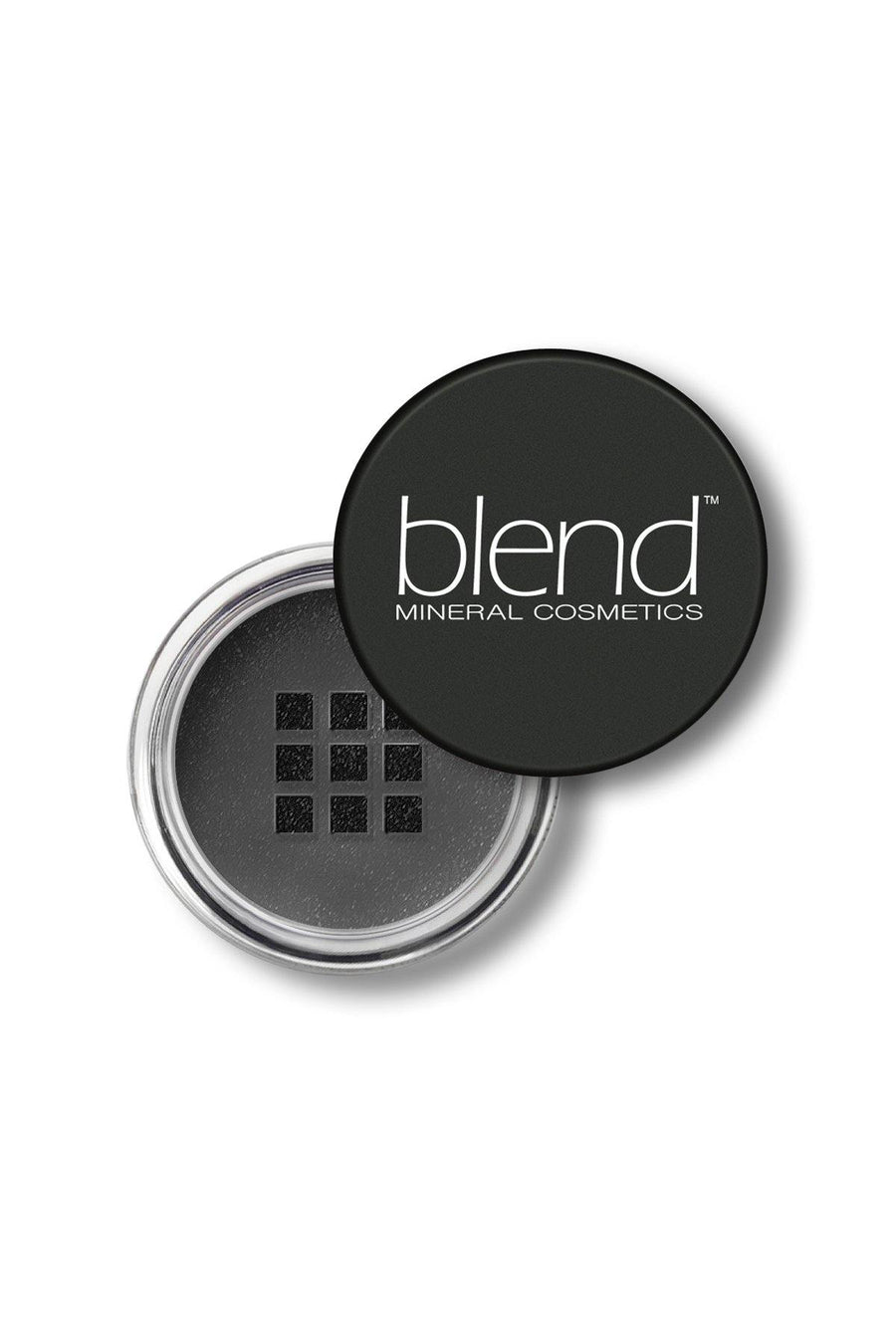 Shimmer Eyeshadow #70 - Black Matte - Blend Mineral Cosmetics