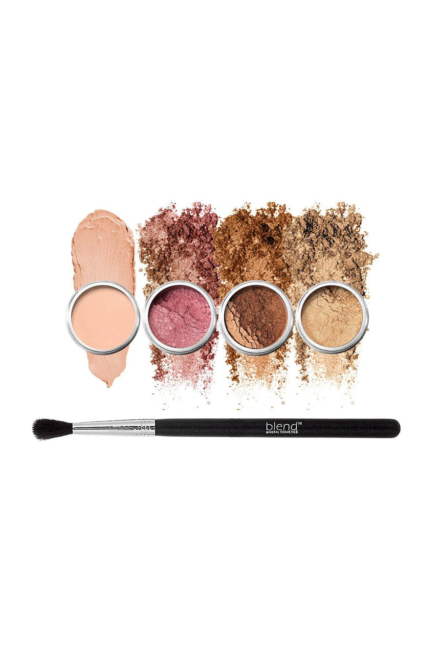Natural Eyes 5-Piece Set - Blend Mineral Cosmetics