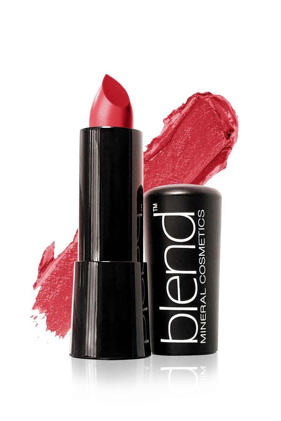 Lipstick #6 - Cleo Red - Blend Mineral Cosmetics