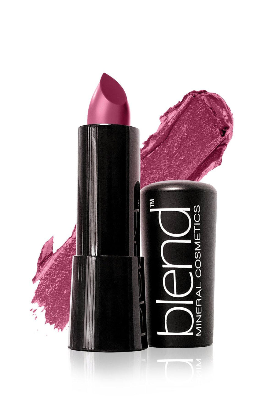 Lipstick #13 - Deep Purple - Blend Mineral Cosmetics