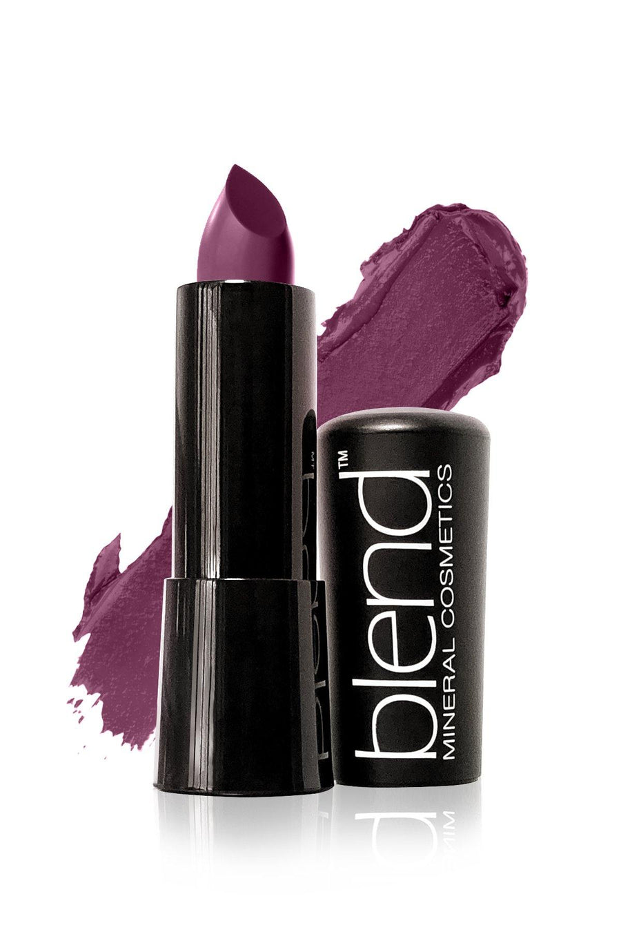 Matte Lipstick #21 - Purple - Blend Mineral Cosmetics
