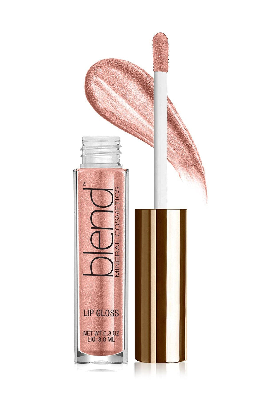 Lip Gloss#G12 - Rosy Future - Blend Mineral Cosmetics