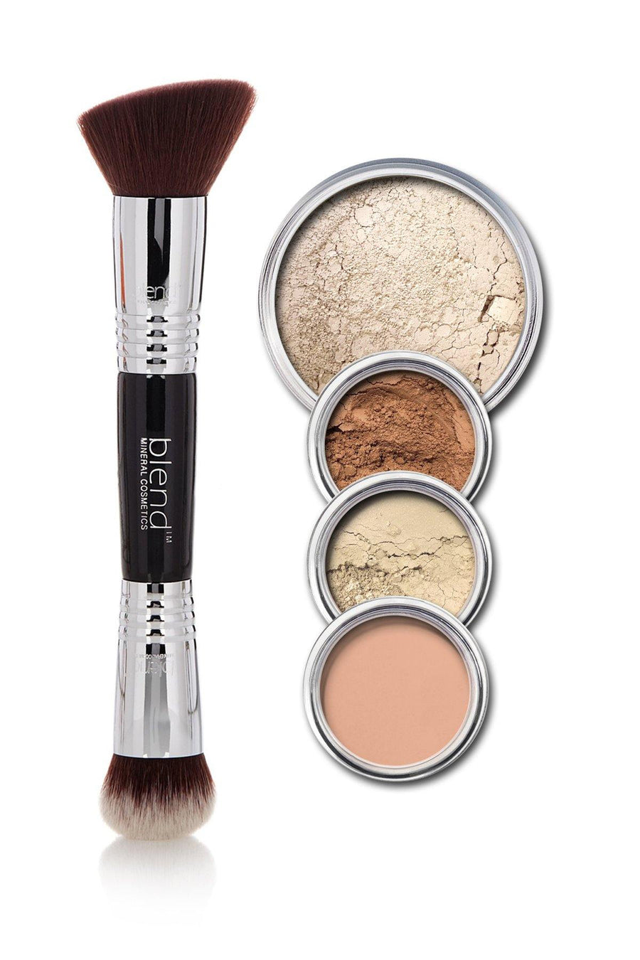All-Over Face Contour & Highlighting Kit - Light - Blend Mineral Cosmetics