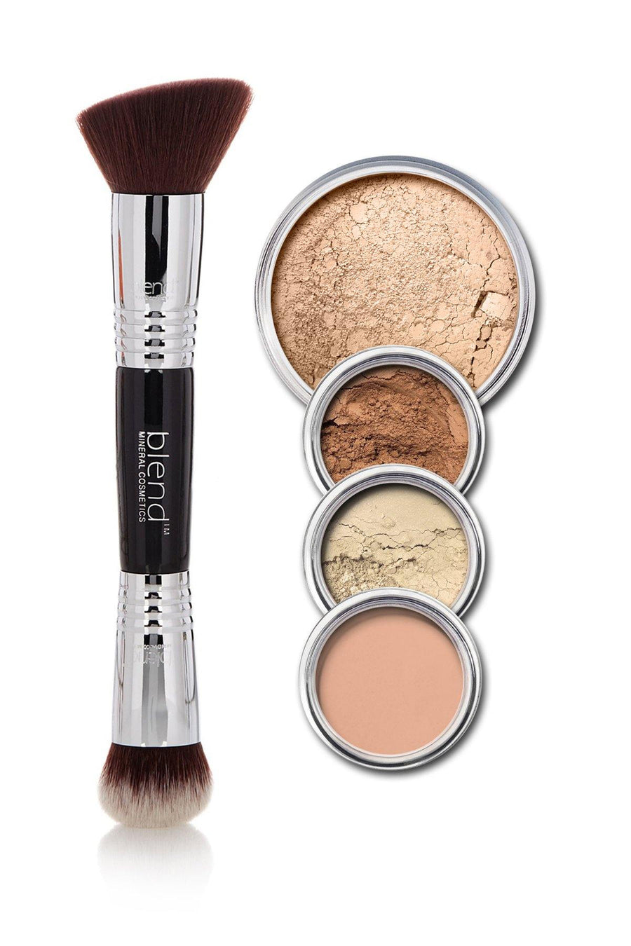All-Over Face Contour & Highlighting Kit - Medium - Blend Mineral Cosmetics